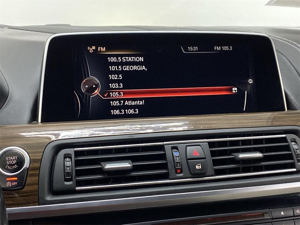 Used 2016 BMW 6 Series 640i Gran Coupe for sale $34,995 at Gravity Autos Marietta in Marietta GA 30060 34