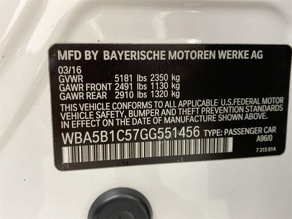 Used 2016 BMW 5 Series 535i for sale Sold at Gravity Autos Marietta in Marietta GA 30060 48