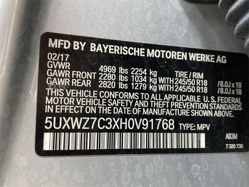 Used 2017 BMW X3 sDrive28i for sale $24,999 at Gravity Autos Marietta in Marietta GA 30060 49