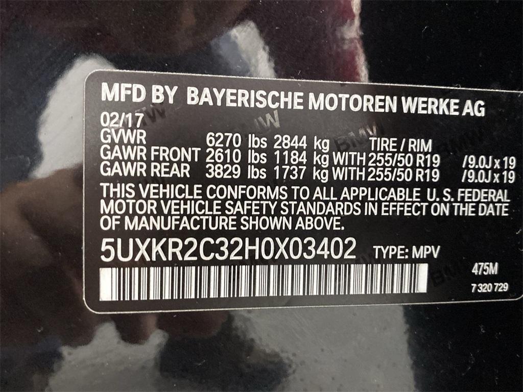Used 2017 BMW X5 sDrive35i for sale $35,449 at Gravity Autos Marietta in Marietta GA 30060 52