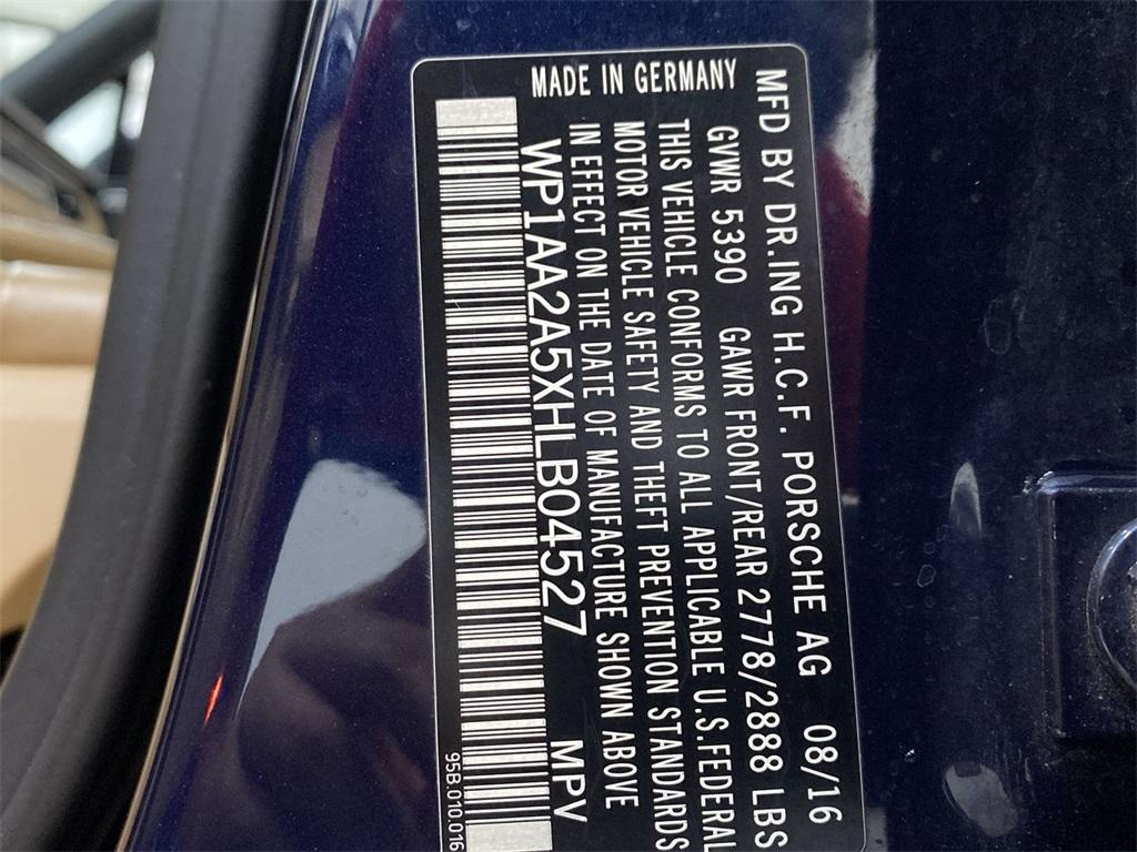 Used 2017 Porsche Macan Base for sale $35,555 at Gravity Autos Marietta in Marietta GA 30060 53