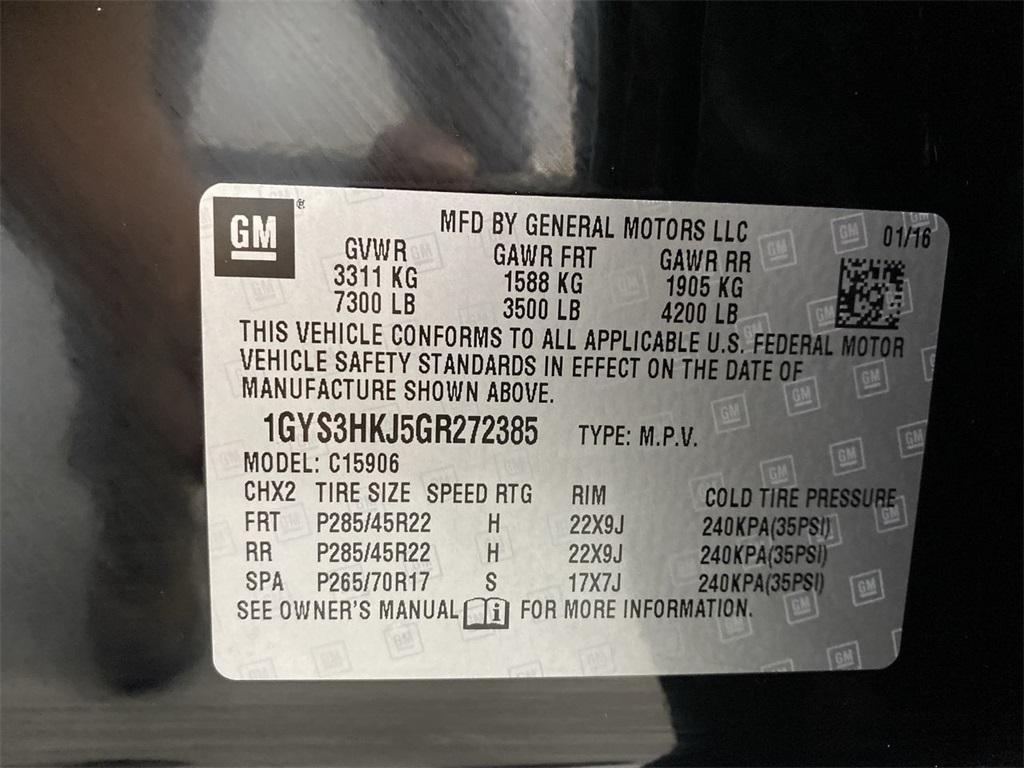 Used 2016 Cadillac Escalade ESV Luxury for sale $42,998 at Gravity Autos Marietta in Marietta GA 30060 54