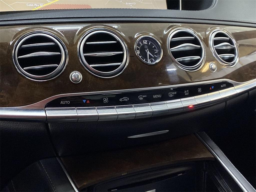 Used 2015 Mercedes-Benz S-Class S 550 for sale $45,999 at Gravity Autos Marietta in Marietta GA 30060 35