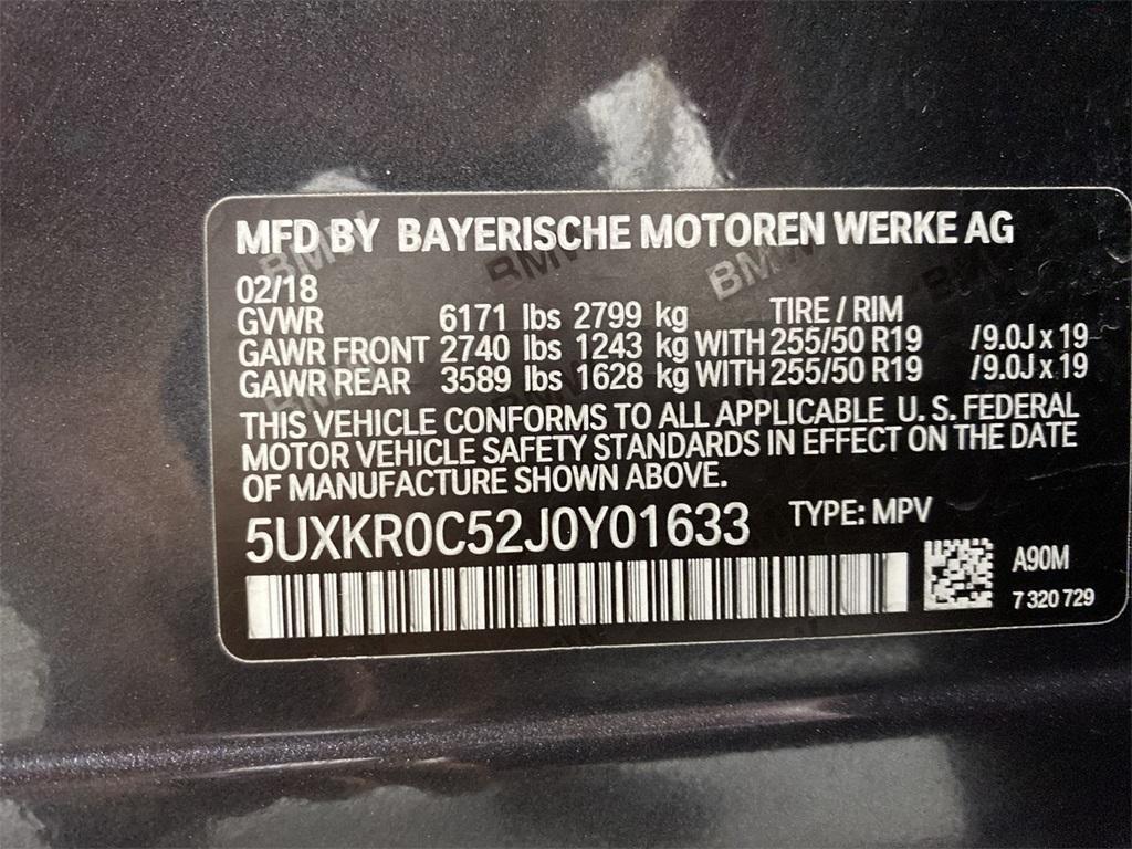 Used 2018 BMW X5 xDrive35i for sale $37,872 at Gravity Autos Marietta in Marietta GA 30060 51