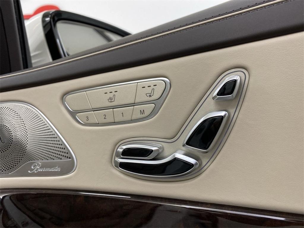 Used 2018 Mercedes-Benz S-Class S 560 for sale $73,444 at Gravity Autos Marietta in Marietta GA 30060 22