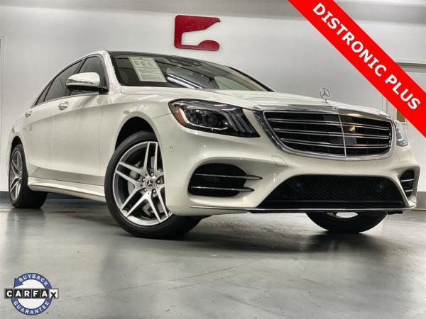 Used 2018 Mercedes-Benz S-Class S 560 for sale $72,888 at Gravity Autos Marietta in Marietta GA