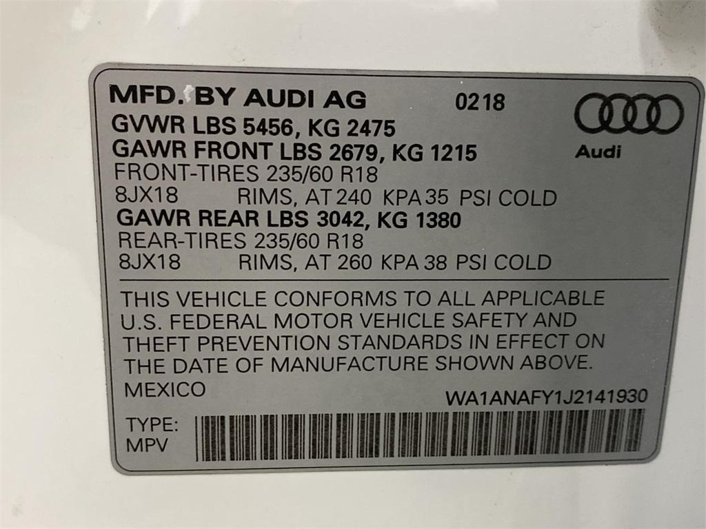 Used 2018 Audi Q5 2.0T for sale $32,888 at Gravity Autos Marietta in Marietta GA 30060 48