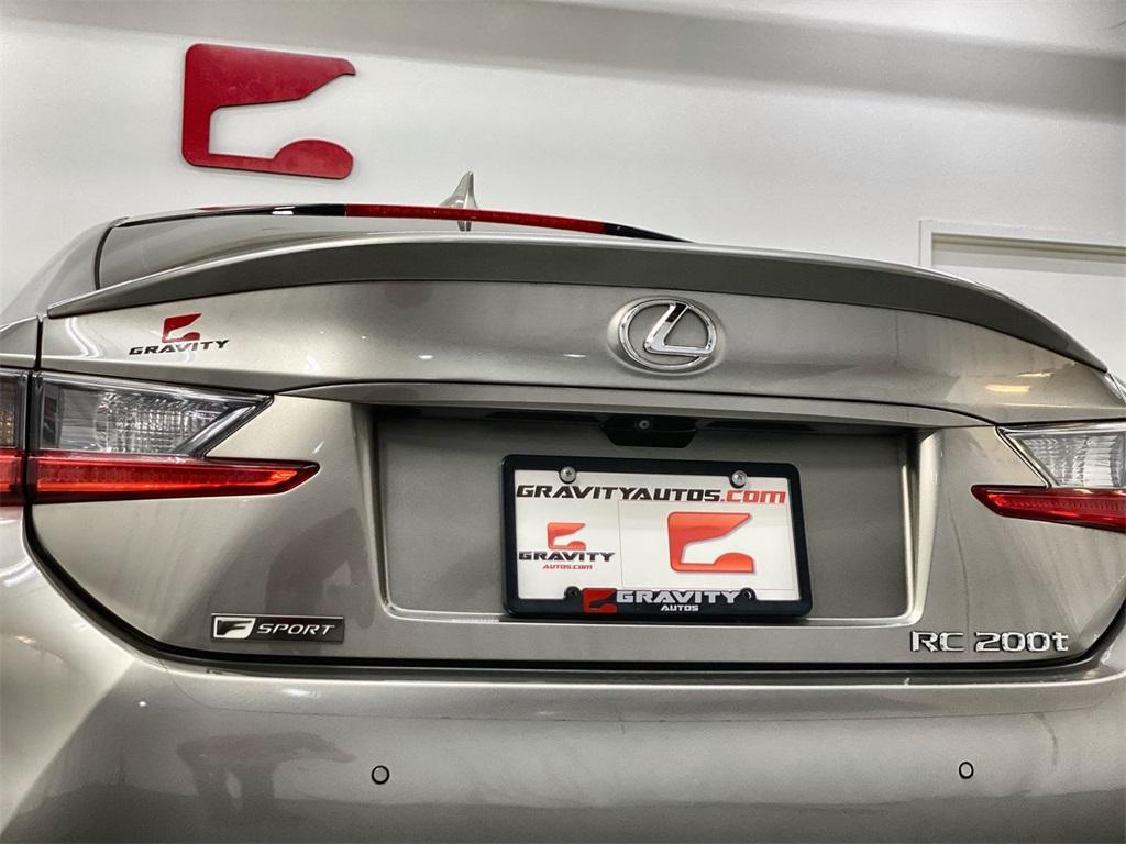 Used 2017 Lexus RC 200t for sale $31,998 at Gravity Autos Marietta in Marietta GA 30060 10