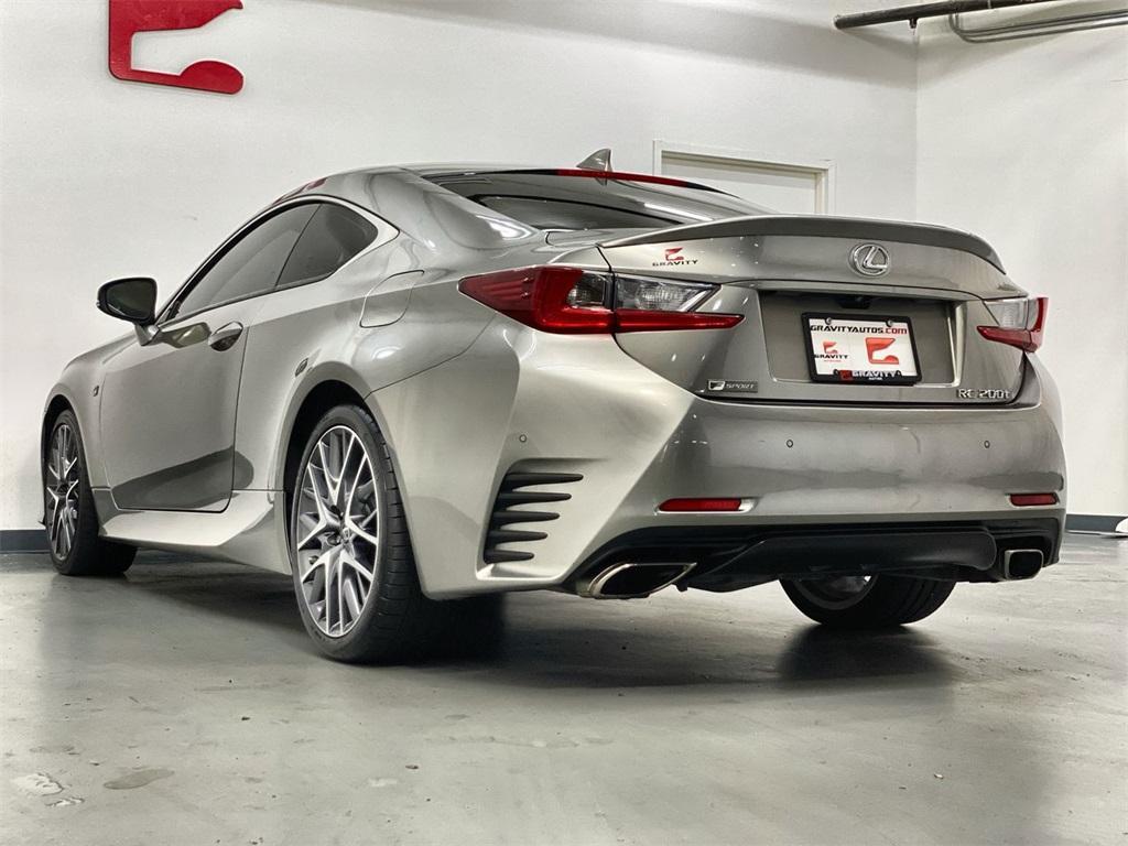 Used 2017 Lexus RC 200t for sale $31,998 at Gravity Autos Marietta in Marietta GA 30060 6