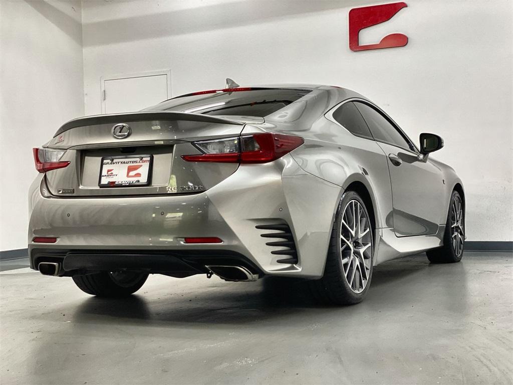 Used 2017 Lexus RC 200t for sale $31,998 at Gravity Autos Marietta in Marietta GA 30060 7