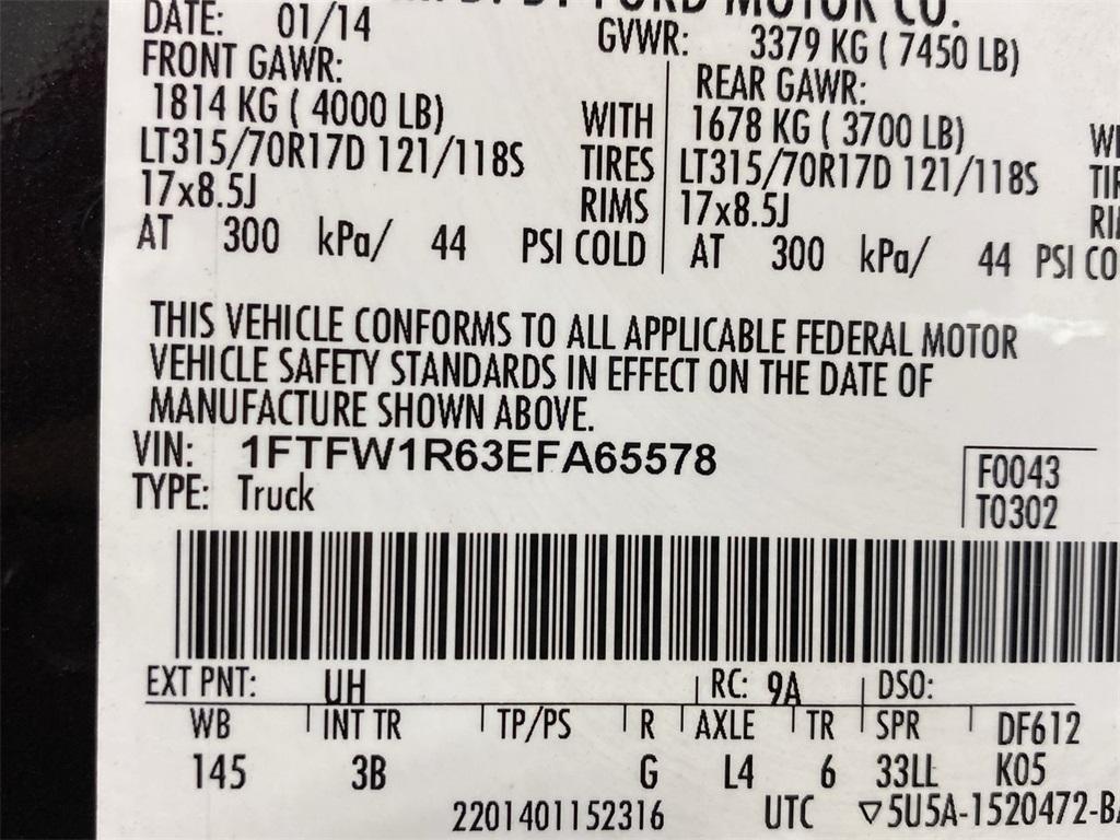 Used 2014 Ford F-150 SVT Raptor for sale $48,888 at Gravity Autos Marietta in Marietta GA 30060 48