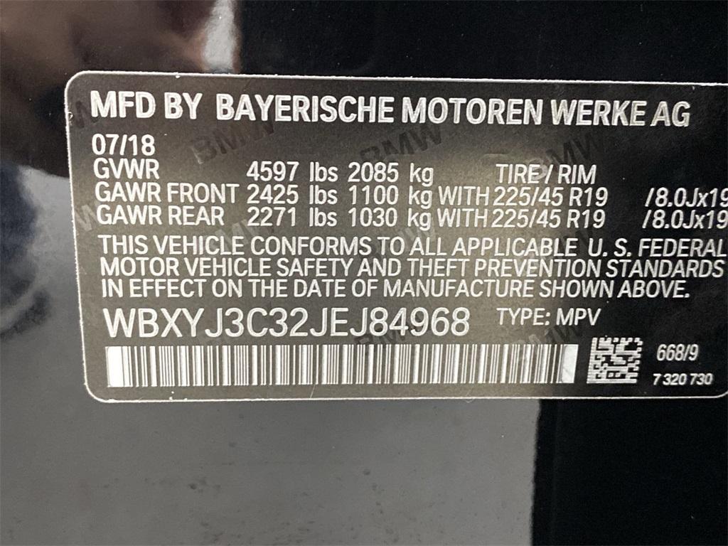 Used 2018 BMW X2 sDrive28i for sale $29,998 at Gravity Autos Marietta in Marietta GA 30060 46