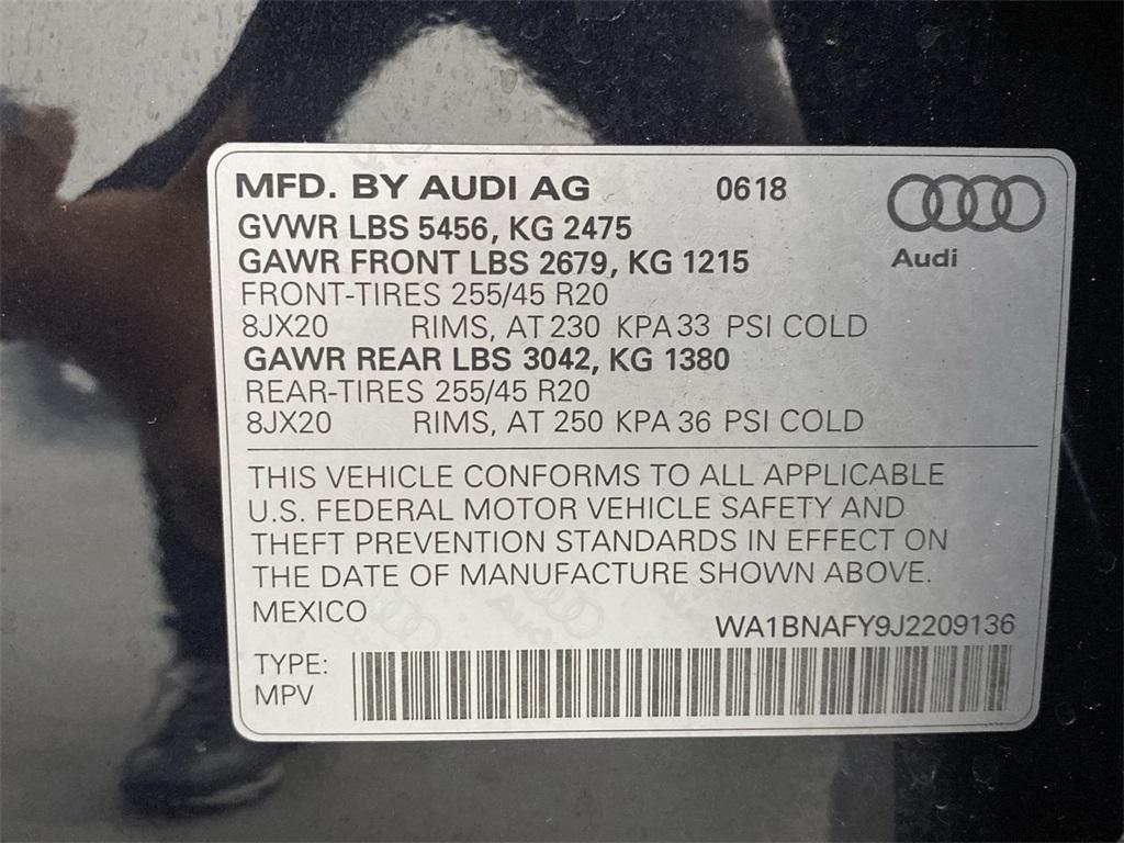 Used 2018 Audi Q5 2.0T for sale $34,309 at Gravity Autos Marietta in Marietta GA 30060 51