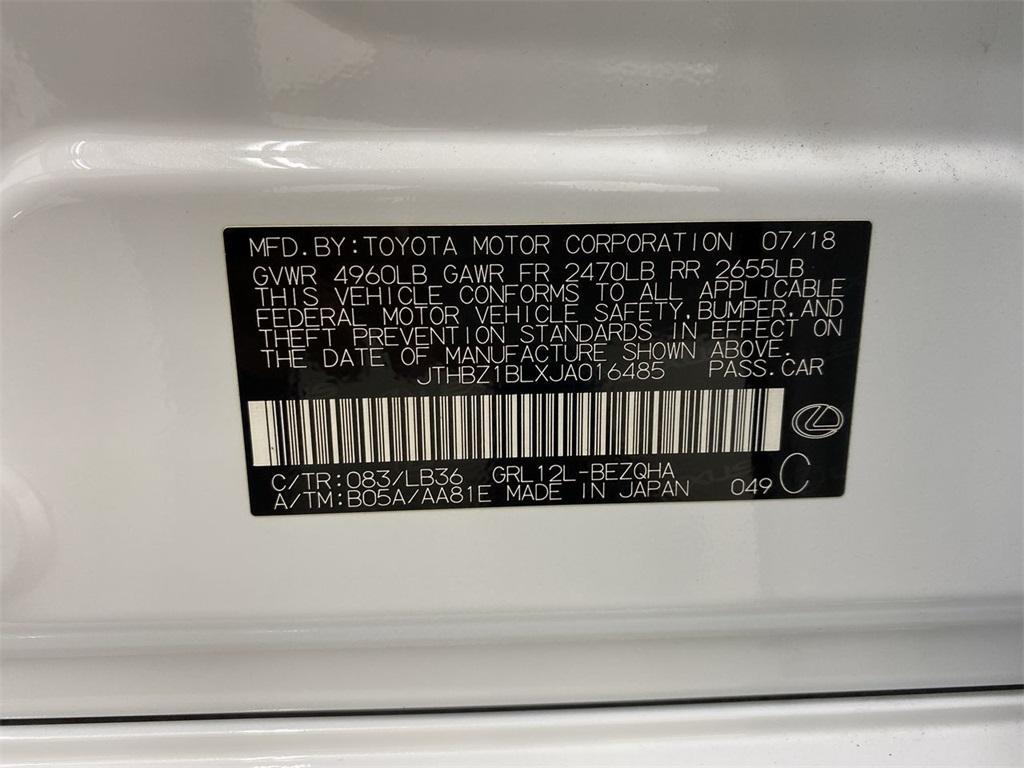 Used 2018 Lexus GS 350 for sale $42,225 at Gravity Autos Marietta in Marietta GA 30060 52
