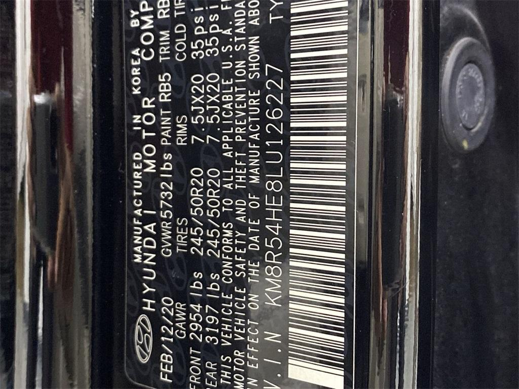 Used 2020 Hyundai Palisade Limited for sale $48,413 at Gravity Autos Marietta in Marietta GA 30060 53