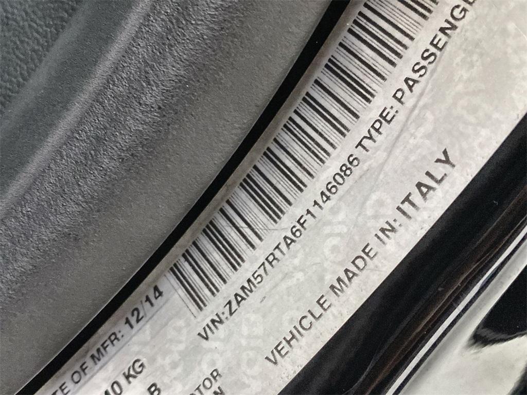 Used 2015 Maserati Ghibli S Q4 for sale $32,985 at Gravity Autos Marietta in Marietta GA 30060 48