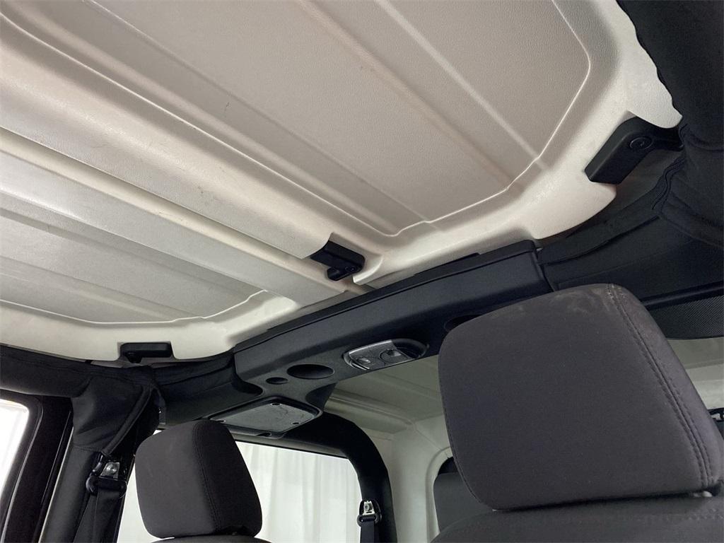Used 2017 Jeep Wrangler Sport for sale $31,444 at Gravity Autos Marietta in Marietta GA 30060 28