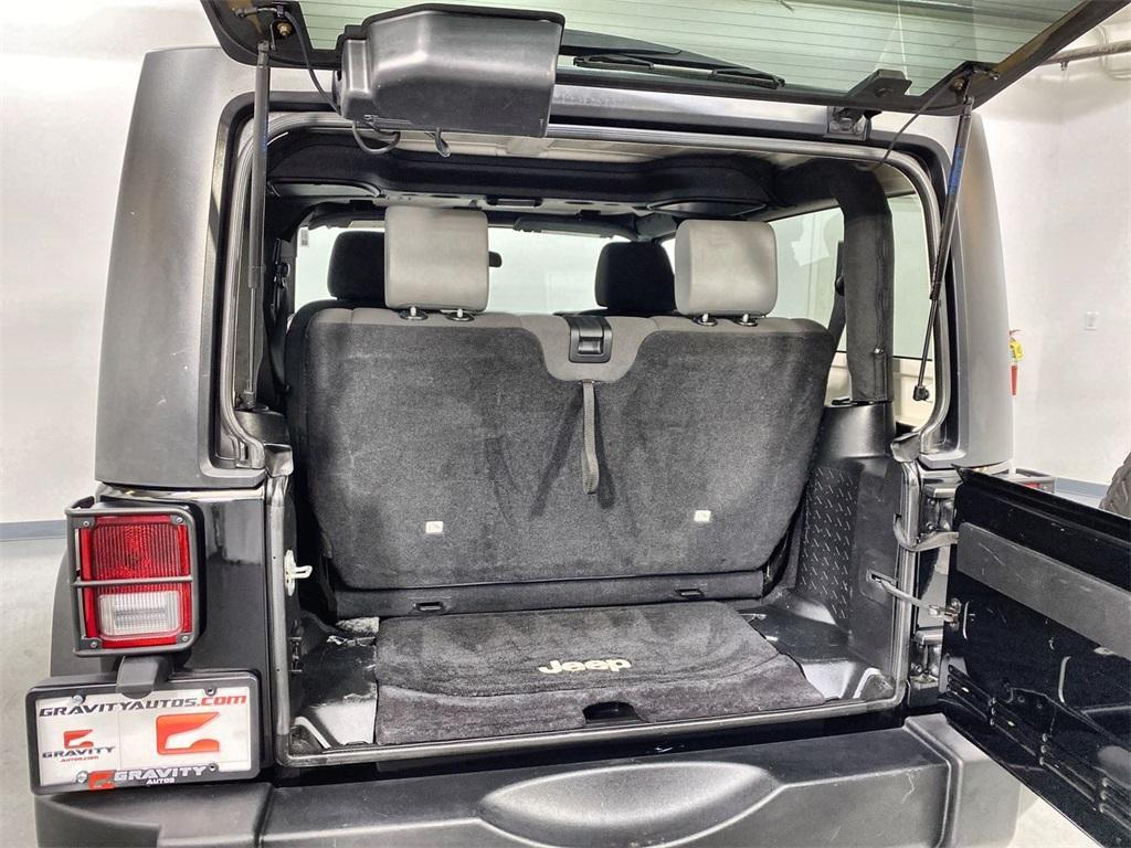 Used 2017 Jeep Wrangler Sport for sale $31,444 at Gravity Autos Marietta in Marietta GA 30060 32