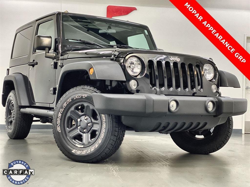 Used 2017 Jeep Wrangler Sport for sale $31,444 at Gravity Autos Marietta in Marietta GA 30060 1