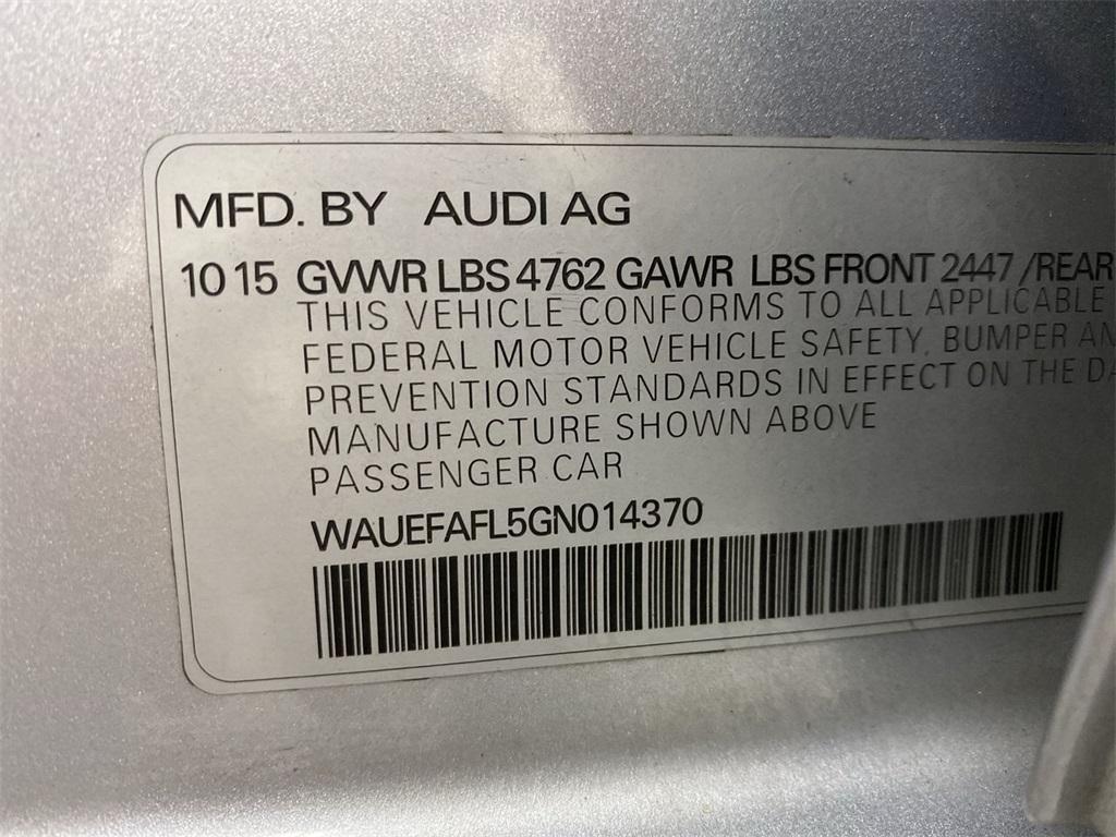 Used 2016 Audi A4 2.0T Premium Plus for sale $23,888 at Gravity Autos Marietta in Marietta GA 30060 46