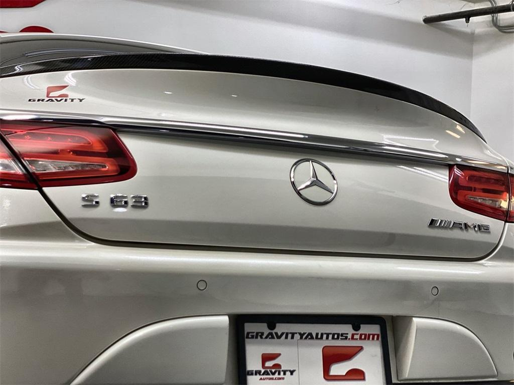 Used 2015 Mercedes-Benz S-Class S 63 AMG for sale $71,590 at Gravity Autos Marietta in Marietta GA 30060 10