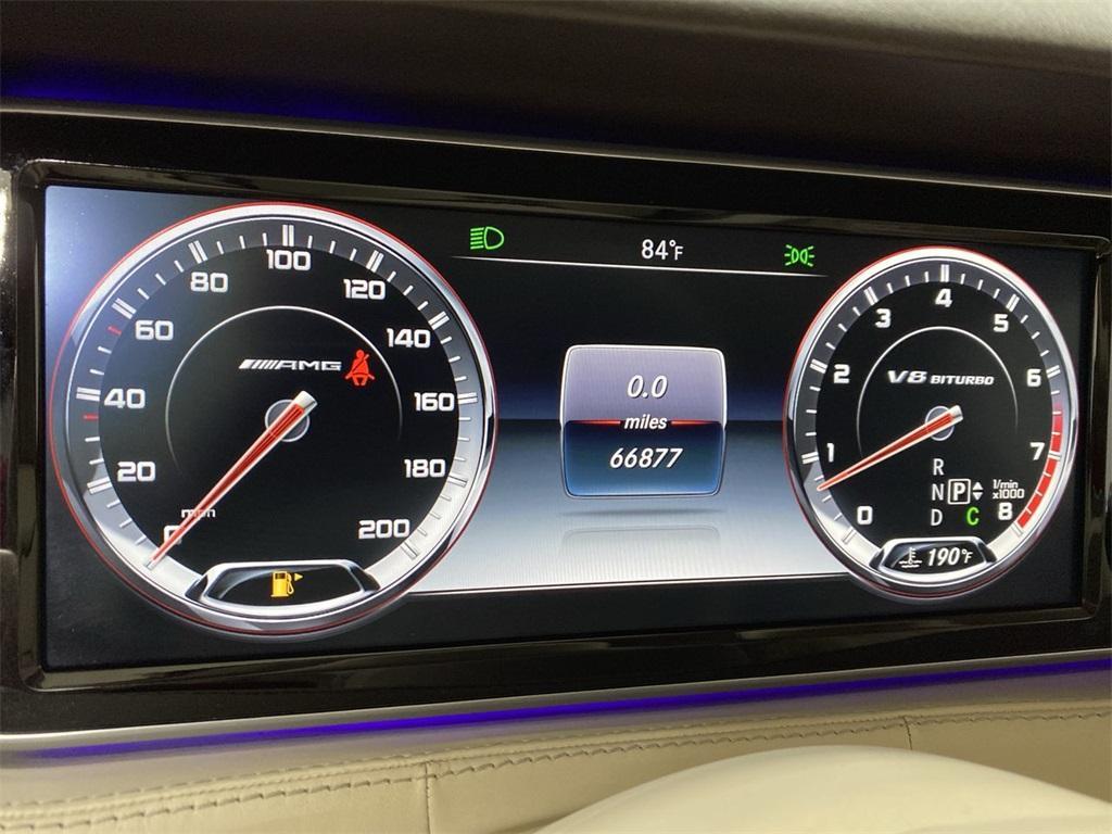 Used 2015 Mercedes-Benz S-Class S 63 AMG for sale $71,590 at Gravity Autos Marietta in Marietta GA 30060 26