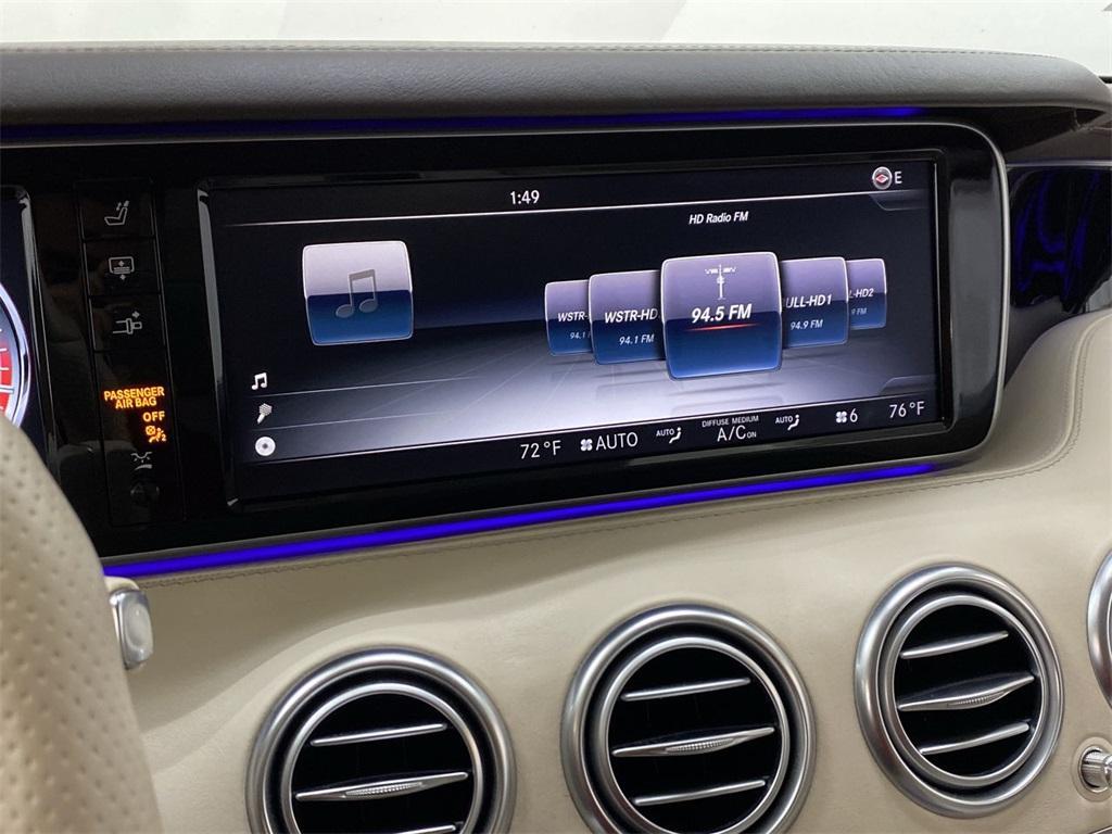 Used 2015 Mercedes-Benz S-Class S 63 AMG for sale $71,590 at Gravity Autos Marietta in Marietta GA 30060 34
