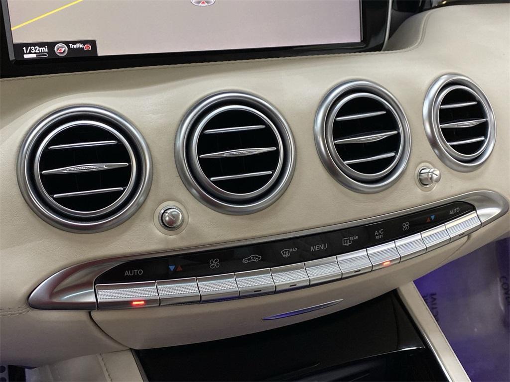Used 2015 Mercedes-Benz S-Class S 63 AMG for sale $71,590 at Gravity Autos Marietta in Marietta GA 30060 35