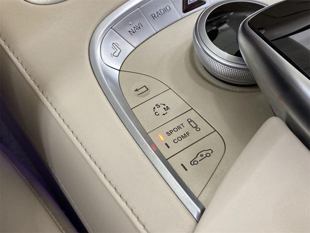 Used 2015 Mercedes-Benz S-Class S 63 AMG for sale $71,590 at Gravity Autos Marietta in Marietta GA 30060 38
