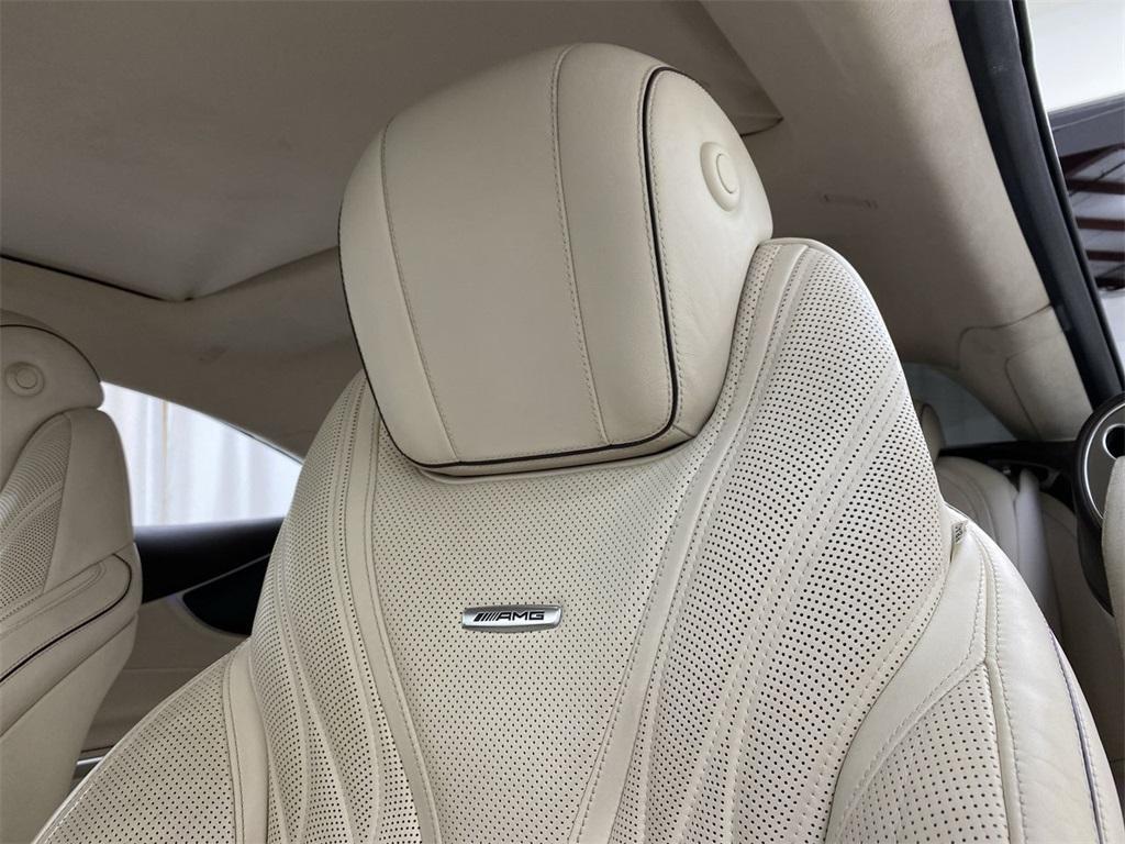 Used 2015 Mercedes-Benz S-Class S 63 AMG for sale $71,590 at Gravity Autos Marietta in Marietta GA 30060 40