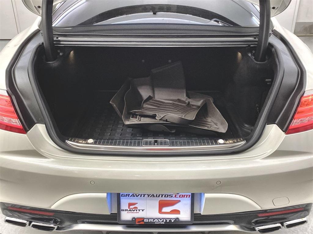 Used 2015 Mercedes-Benz S-Class S 63 AMG for sale $71,590 at Gravity Autos Marietta in Marietta GA 30060 50