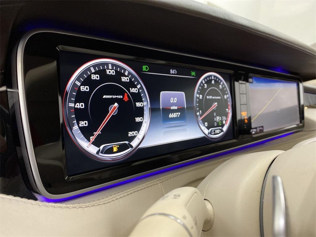 Used 2015 Mercedes-Benz S-Class S 63 AMG for sale $71,590 at Gravity Autos Marietta in Marietta GA 30060 58