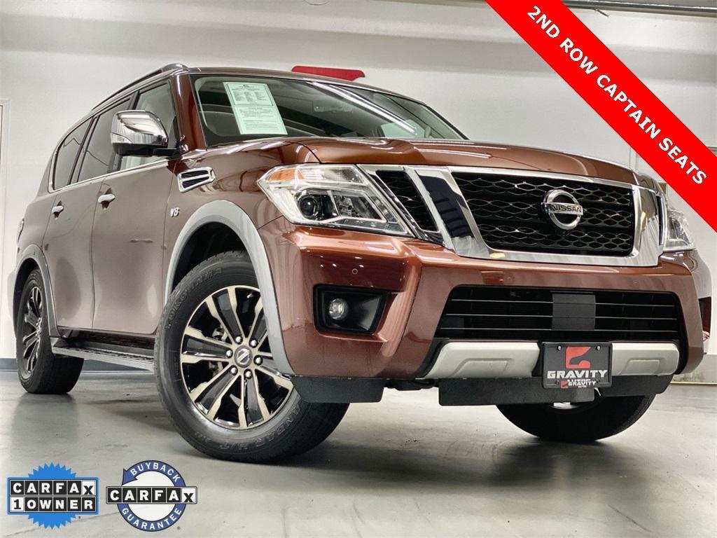 Used 2018 Nissan Armada Platinum for sale $41,998 at Gravity Autos Marietta in Marietta GA 30060 1