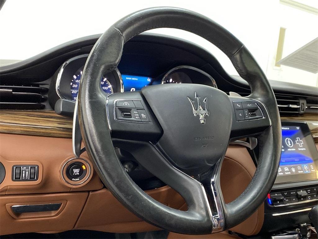 Used 2017 Maserati Quattroporte S Q4 GranLusso for sale $46,888 at Gravity Autos Marietta in Marietta GA 30060 22
