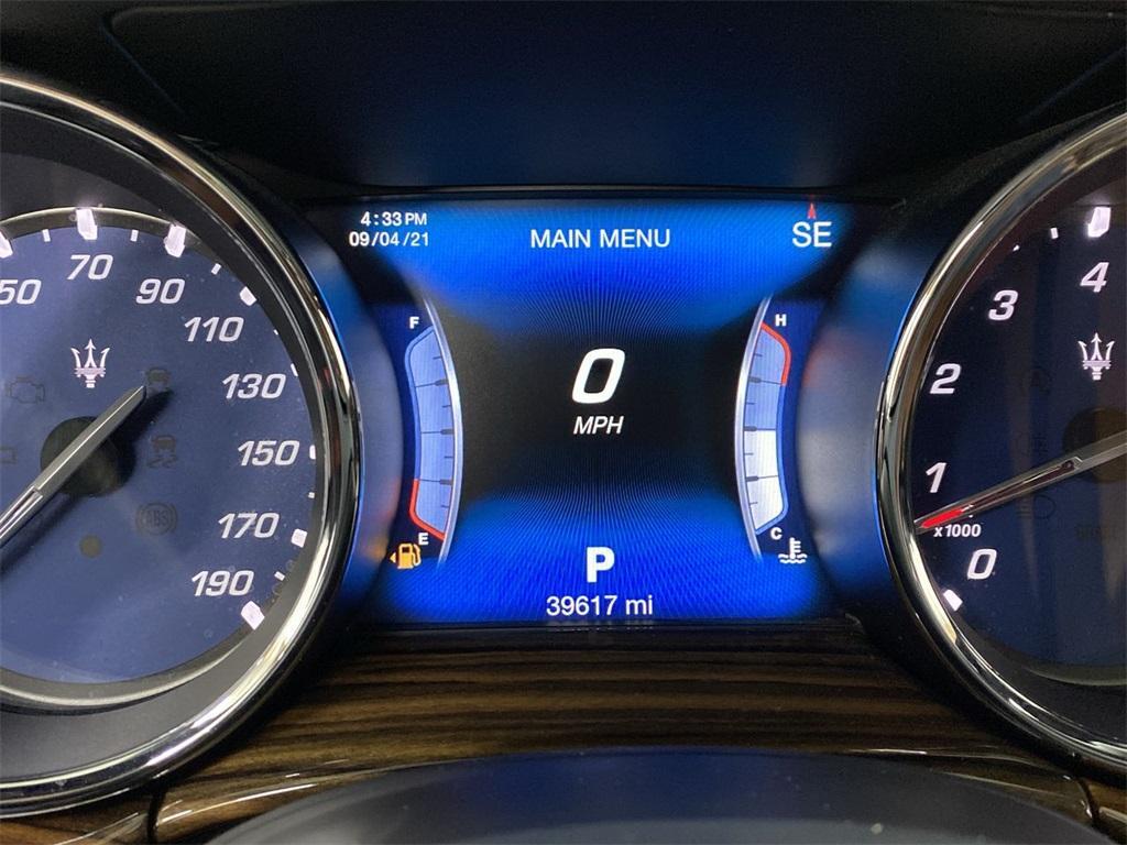 Used 2017 Maserati Quattroporte S Q4 GranLusso for sale $46,888 at Gravity Autos Marietta in Marietta GA 30060 26