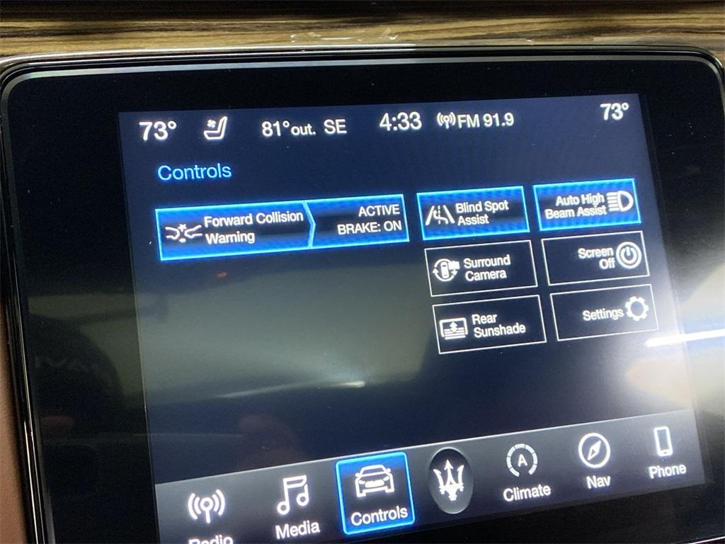 Used 2017 Maserati Quattroporte S Q4 GranLusso for sale $46,888 at Gravity Autos Marietta in Marietta GA 30060 28