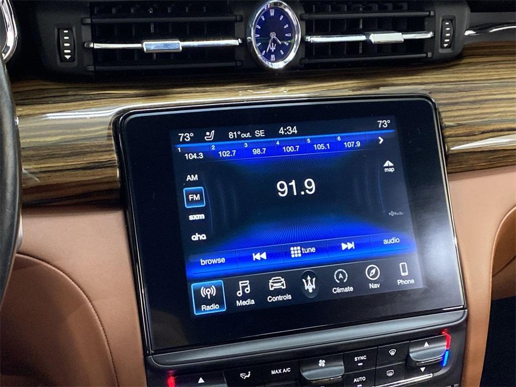 Used 2017 Maserati Quattroporte S Q4 GranLusso for sale $46,888 at Gravity Autos Marietta in Marietta GA 30060 33