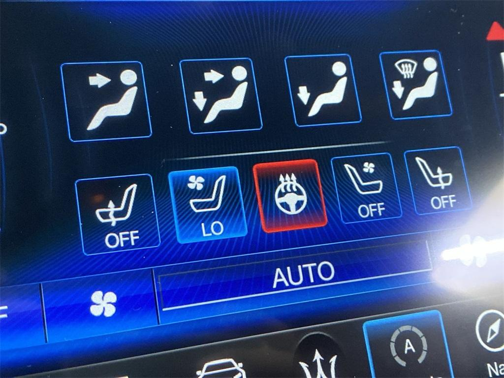 Used 2017 Maserati Quattroporte S Q4 GranLusso for sale $46,888 at Gravity Autos Marietta in Marietta GA 30060 36