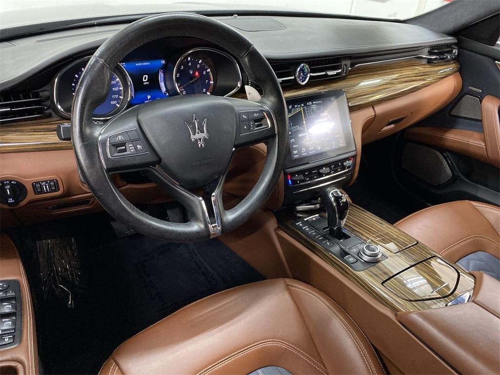 Used 2017 Maserati Quattroporte S Q4 GranLusso for sale $46,888 at Gravity Autos Marietta in Marietta GA 30060 41