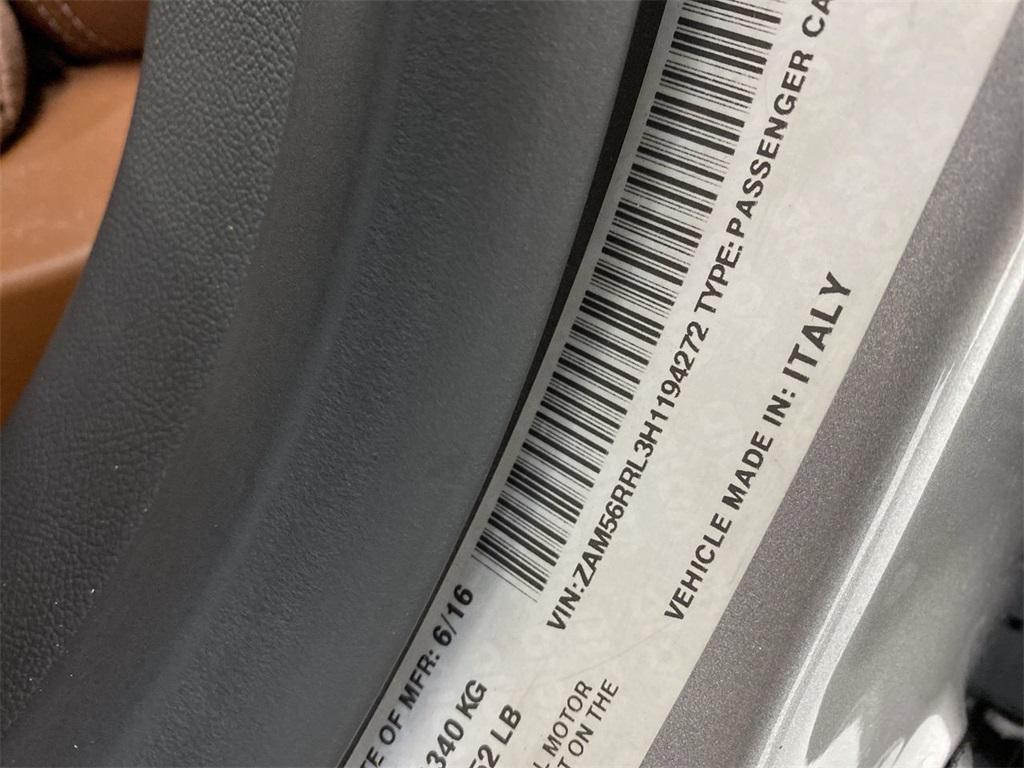 Used 2017 Maserati Quattroporte S Q4 GranLusso for sale $46,888 at Gravity Autos Marietta in Marietta GA 30060 54