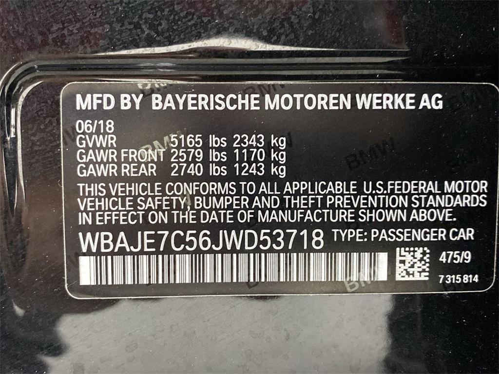 Used 2018 BMW 5 Series 540i xDrive for sale $43,888 at Gravity Autos Marietta in Marietta GA 30060 50