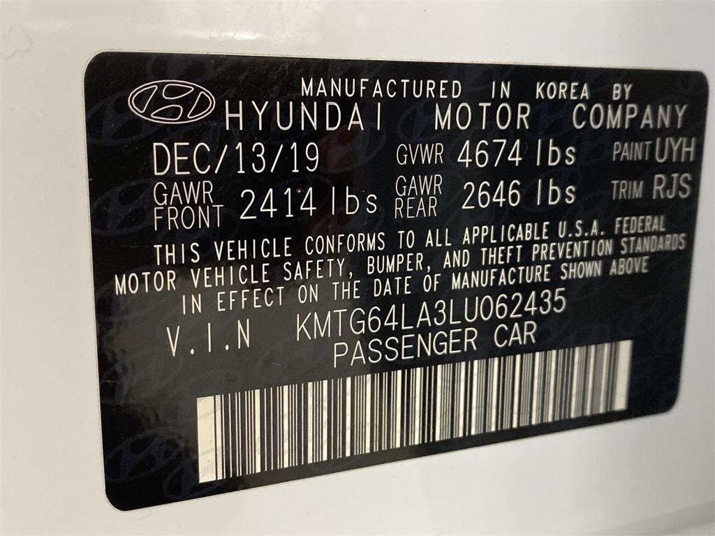 Used 2020 Genesis G70 2.0T for sale $36,444 at Gravity Autos Marietta in Marietta GA 30060 47