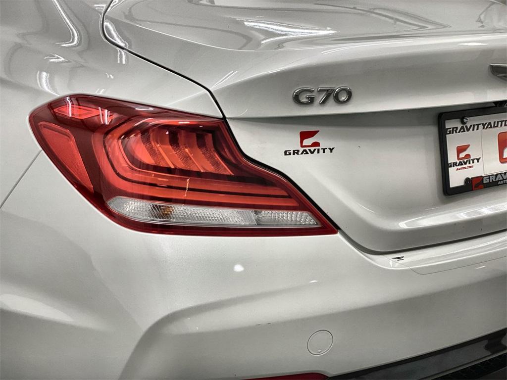 Used 2020 Genesis G70 2.0T for sale $36,444 at Gravity Autos Marietta in Marietta GA 30060 9