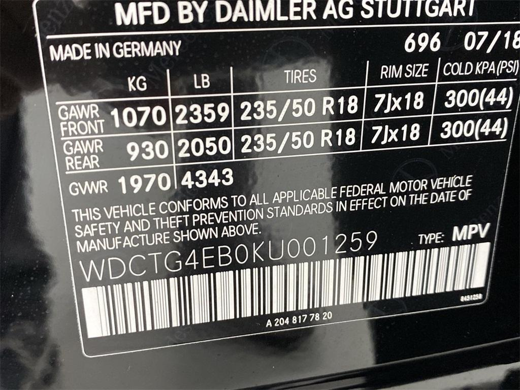 Used 2019 Mercedes-Benz GLA GLA 250 for sale $32,444 at Gravity Autos Marietta in Marietta GA 30060 46