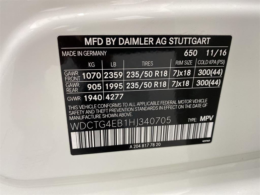 Used 2017 Mercedes-Benz GLA GLA 250 for sale Sold at Gravity Autos Marietta in Marietta GA 30060 45