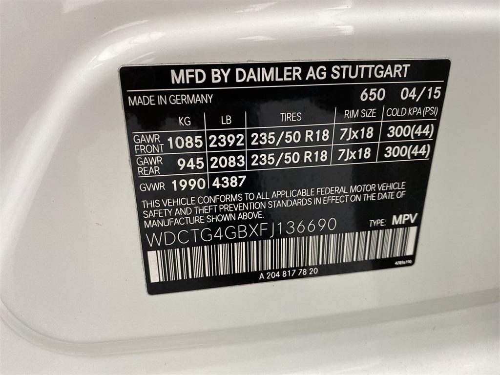 Used 2015 Mercedes-Benz GLA GLA 250 for sale $24,998 at Gravity Autos Marietta in Marietta GA 30060 47