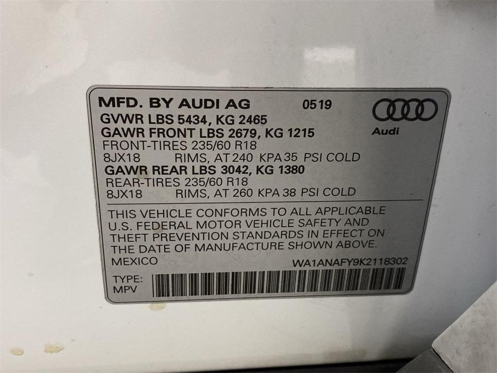 Used 2019 Audi Q5 for sale $33,498 at Gravity Autos Marietta in Marietta GA 30060 50