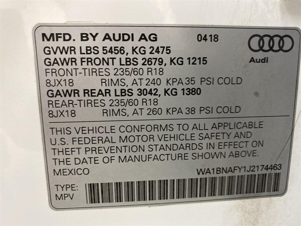 Used 2018 Audi Q5 2.0T Premium Plus for sale $34,998 at Gravity Autos Marietta in Marietta GA 30060 49