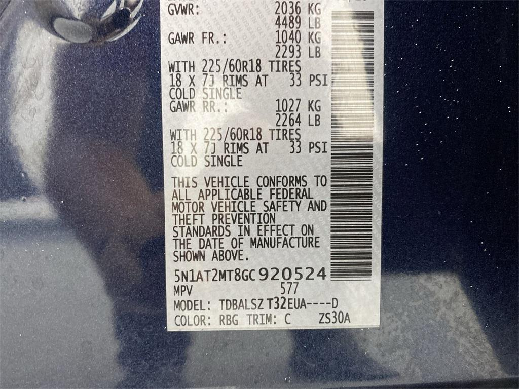 Used 2016 Nissan Rogue SL for sale Sold at Gravity Autos Marietta in Marietta GA 30060 50