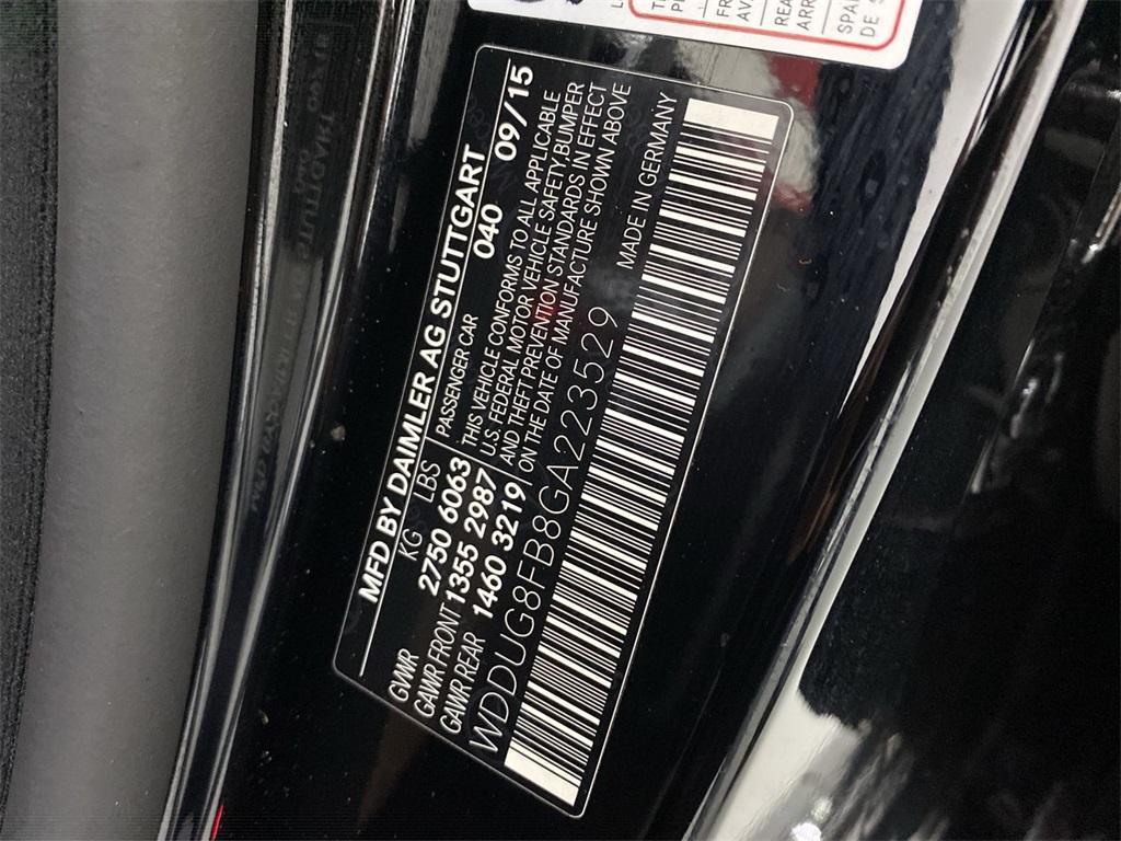 Used 2016 Mercedes-Benz S-Class S 550 for sale Sold at Gravity Autos Marietta in Marietta GA 30060 55